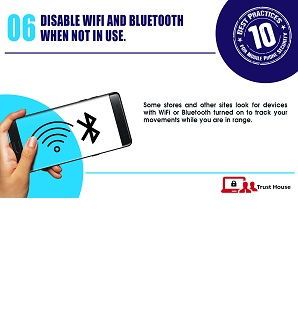 Best Practices for Mobile Phone Security Tip#6