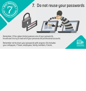 Best practices for strong password Tip#7