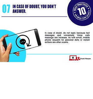 Best Practices for Mobile Phone Security Tip#7