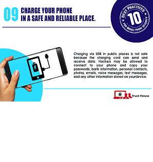 Best Practices for Mobile Phone Security Tip#9